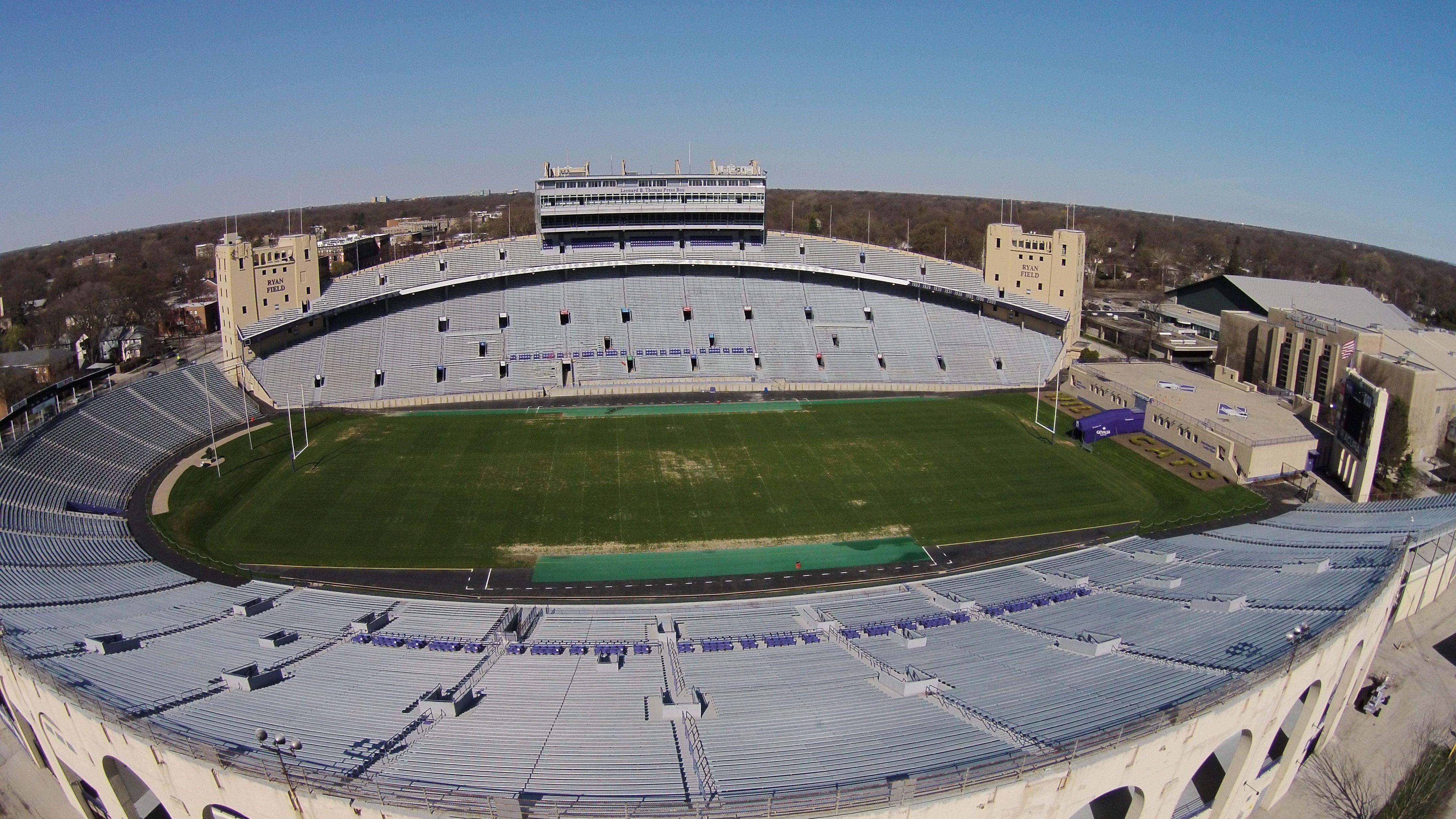 Northwestern University Ryan Field Google Search Illinois Football Northwestern University Football Stadiums