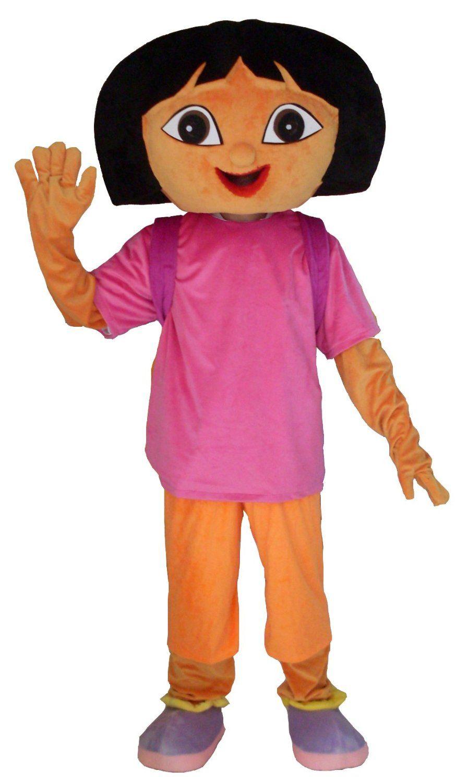 Dora The Explorer mascot hire!  sc 1 st  Pinterest & Dora The Explorer mascot hire! | Mascots for Hire | Pinterest