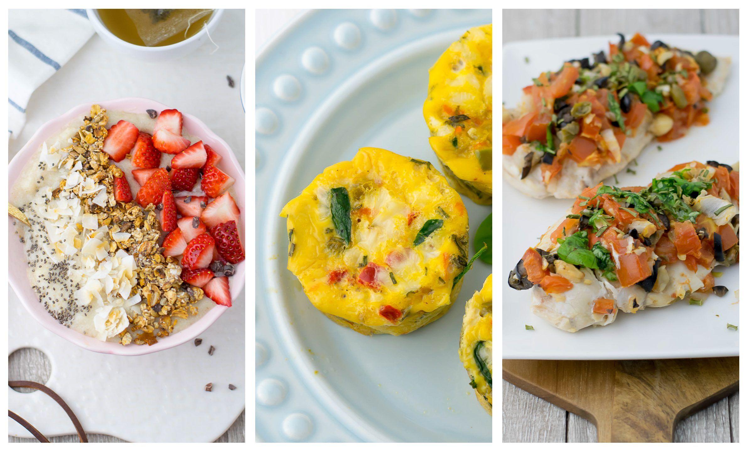 Diário Alimentar #2 + Receitas - Anita Healthy