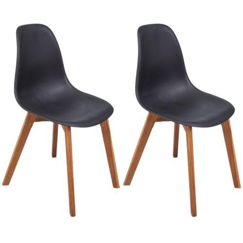 2x Esszimmerstuhl Design Retro Stuhl Esszimmerstühle Küchenstuhl ...