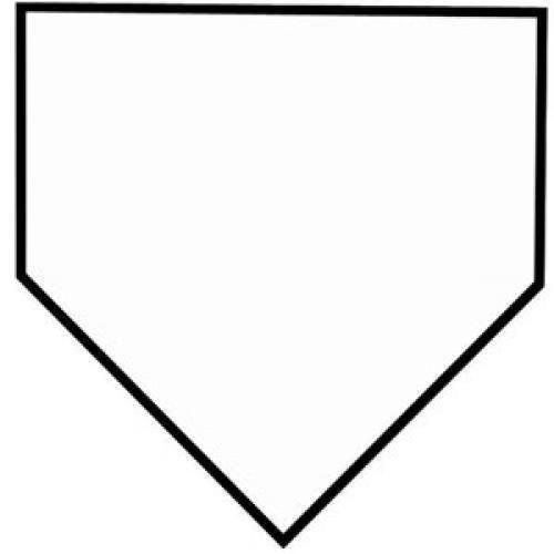 29++ Home plate clipart black and white information