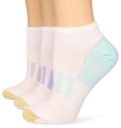 Gold Toe Women`s 3 Pair Pack Liner Socks $5.60 (save $8.40)