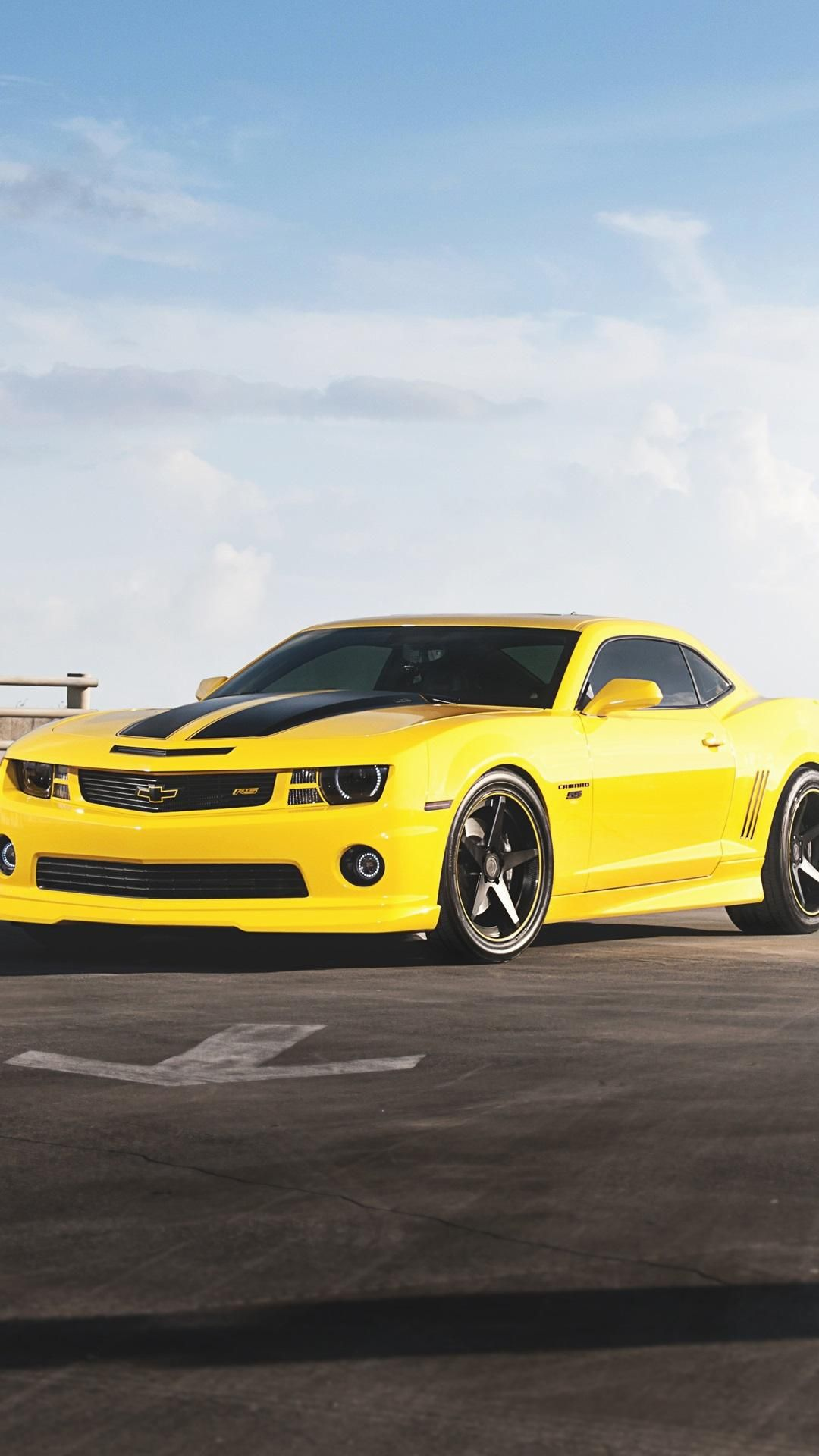 Live wallpaper is an exciting and novel way of spicing up your smartphone's home and lock screens. Yellow Car Android Wallpaper Hd Wallpapers Free Chevrolet Camaro Car Wallpapers Camaro Rs