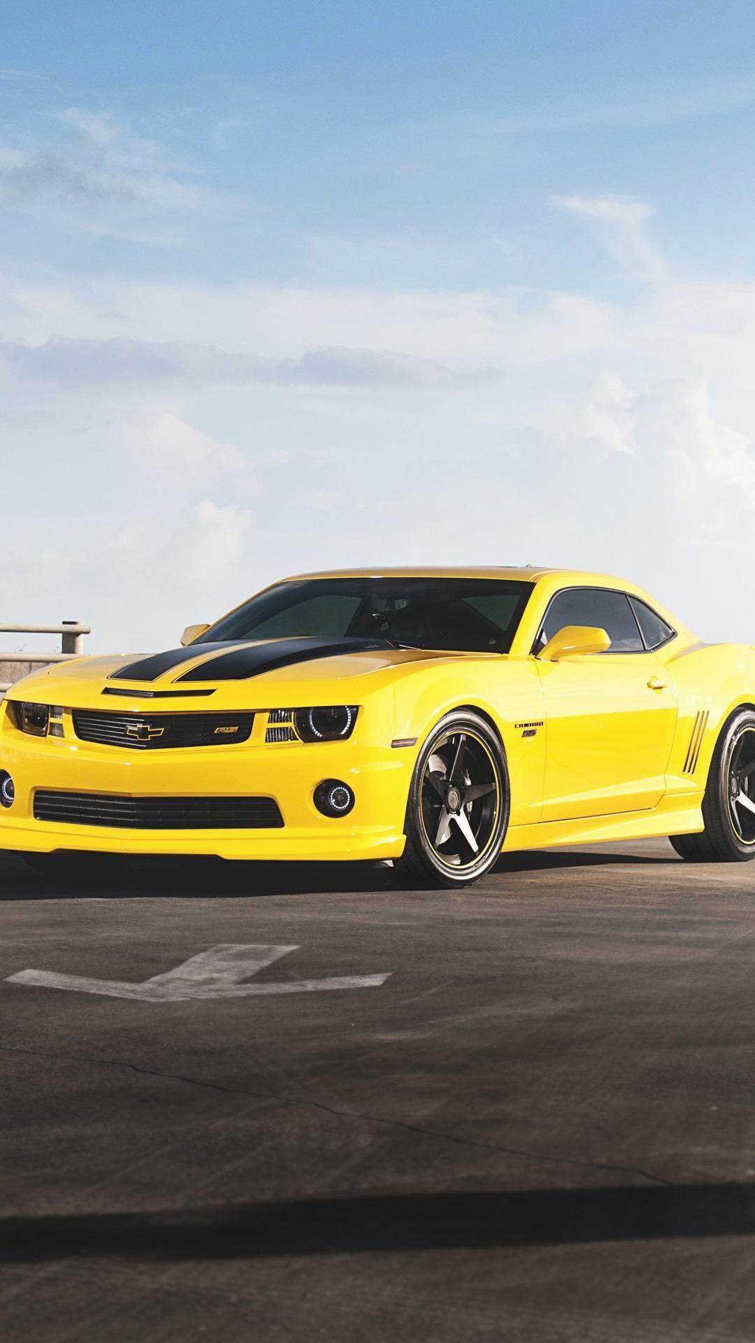 Yellow Car Android Wallpaper Hd Wallpapers Free Chevrolet Camaro Camaro Rs Camaro