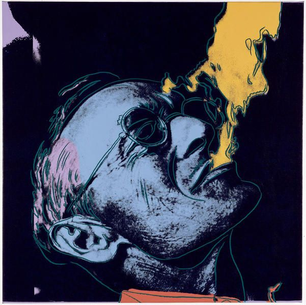 Hermann Hesse By Andy Warhol Andy Warhol Andy Warhol Pop Art