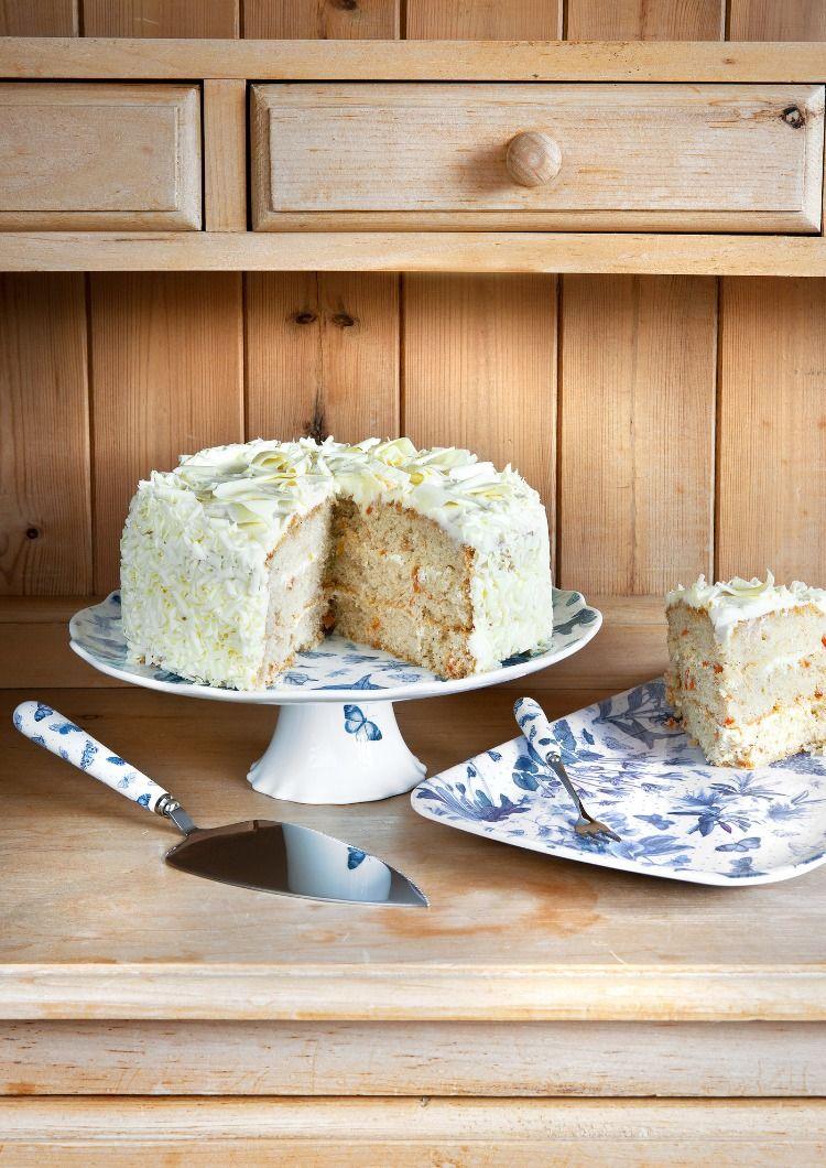 Botanic blue cake stand blue cake stand portmeirion