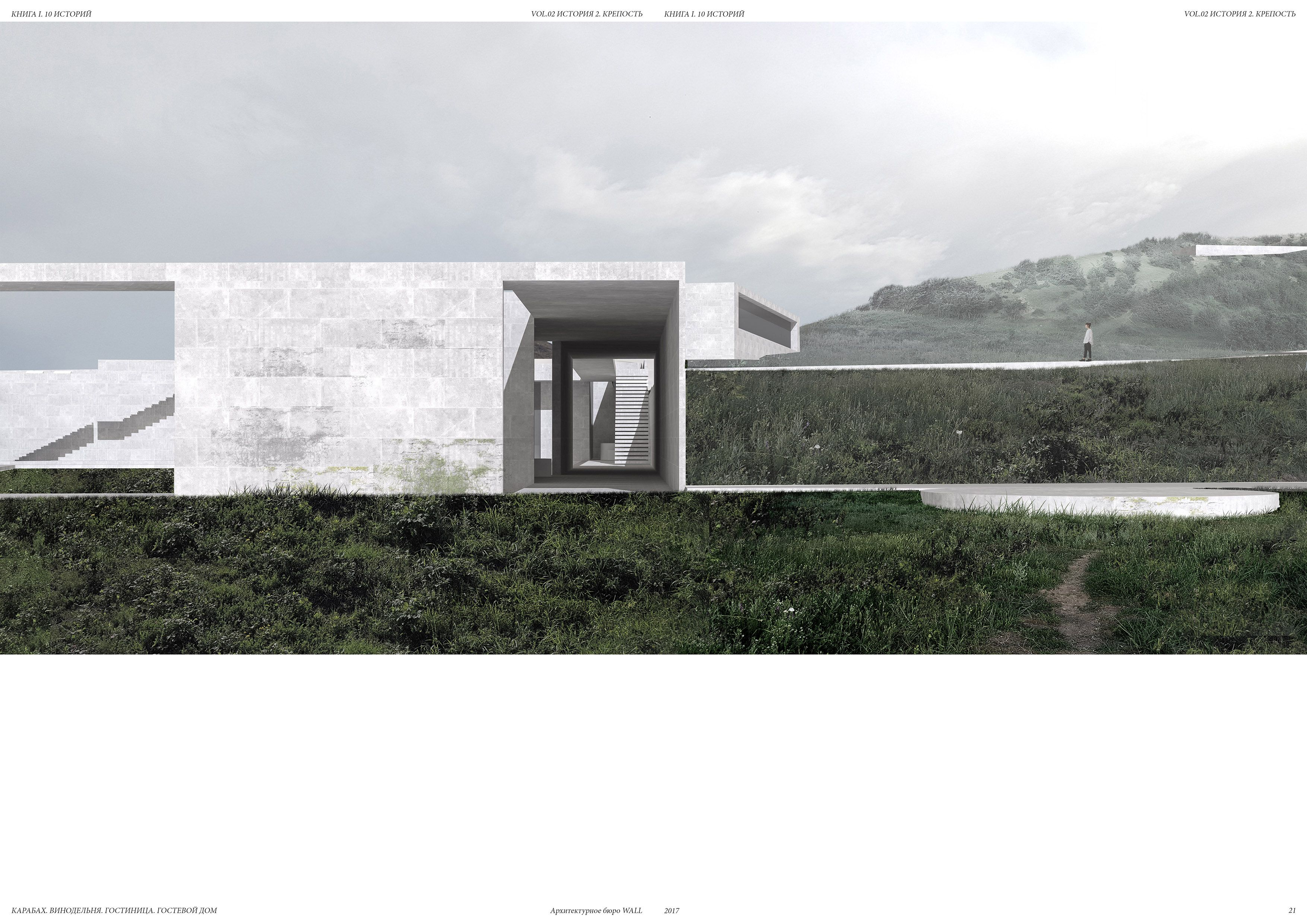 Architectural bureau wall armenia stories history
