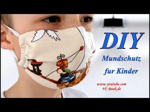 DIY Mundschutz für Kinder mit Nasenbügel selber nähen / Gesichtsmaske / DIY Face Mask