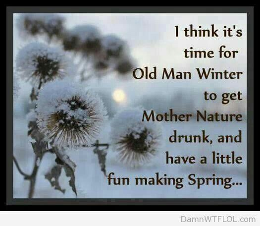 Funny Mother Nature | Mother nature and old man winter? | Holiday