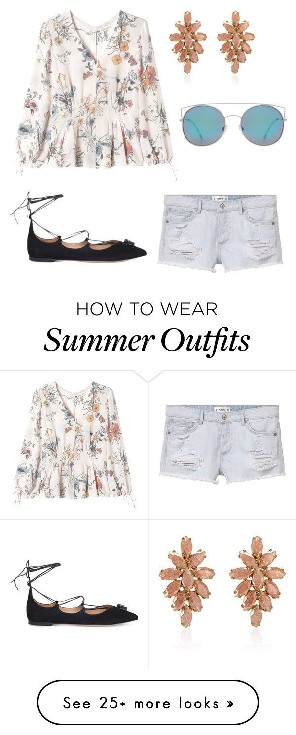 """Summer Outfits : """"Summer outfits"""" by laquisha16 on Polyvore featuring MANGO Rebecca Ta"""