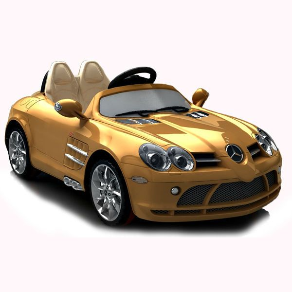Mercedes benz 722s slr licensed kids toy car with ce for Mercedes benz kids car