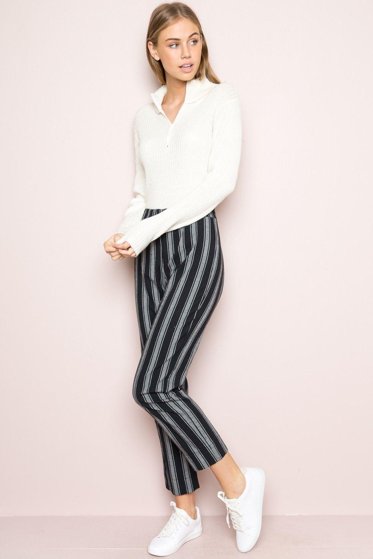 Bestbewertete Mode offizieller Shop unschlagbarer Preis Tilden Pants | Clothes | Kleidung, Nadelstreifen hose und ...
