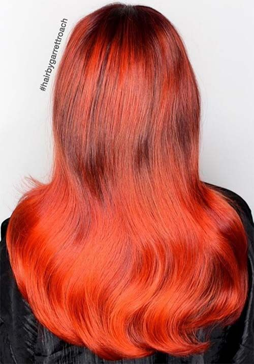 different easy hair styles 100 badass hair colors auburn cherry copper 6464