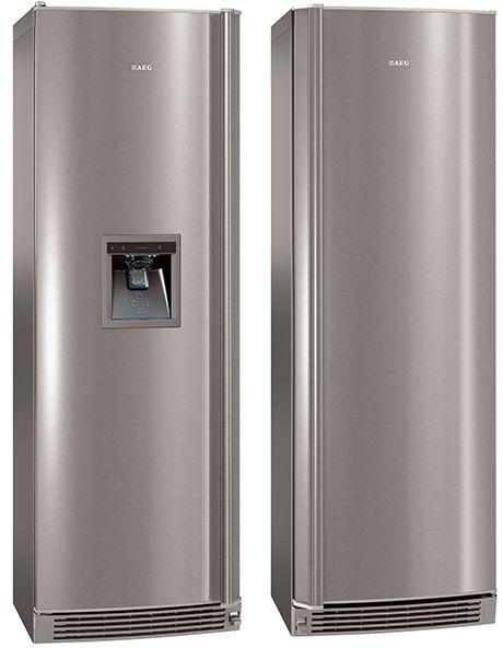 The New Aeg Matching Fridge And Freezer Offers A More Spacious Alternative To Aeg Fridge Freezer Freezer Appliances Fridge Freezers