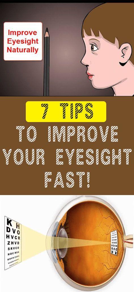 7 TIPS TO IMPROVE YOUR EYESIGHT FAST! - Guns Pinterest Bodies