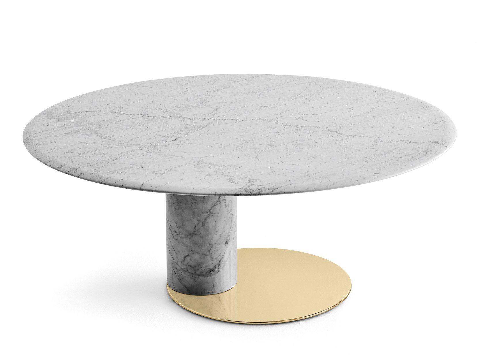 Oval Carrara Marble Table Oto Big By Gallotti Radice Marble Table Round Dining Table Dining Table