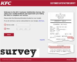 Kfc Customer Satisfaction Survey Survey Template Surveys