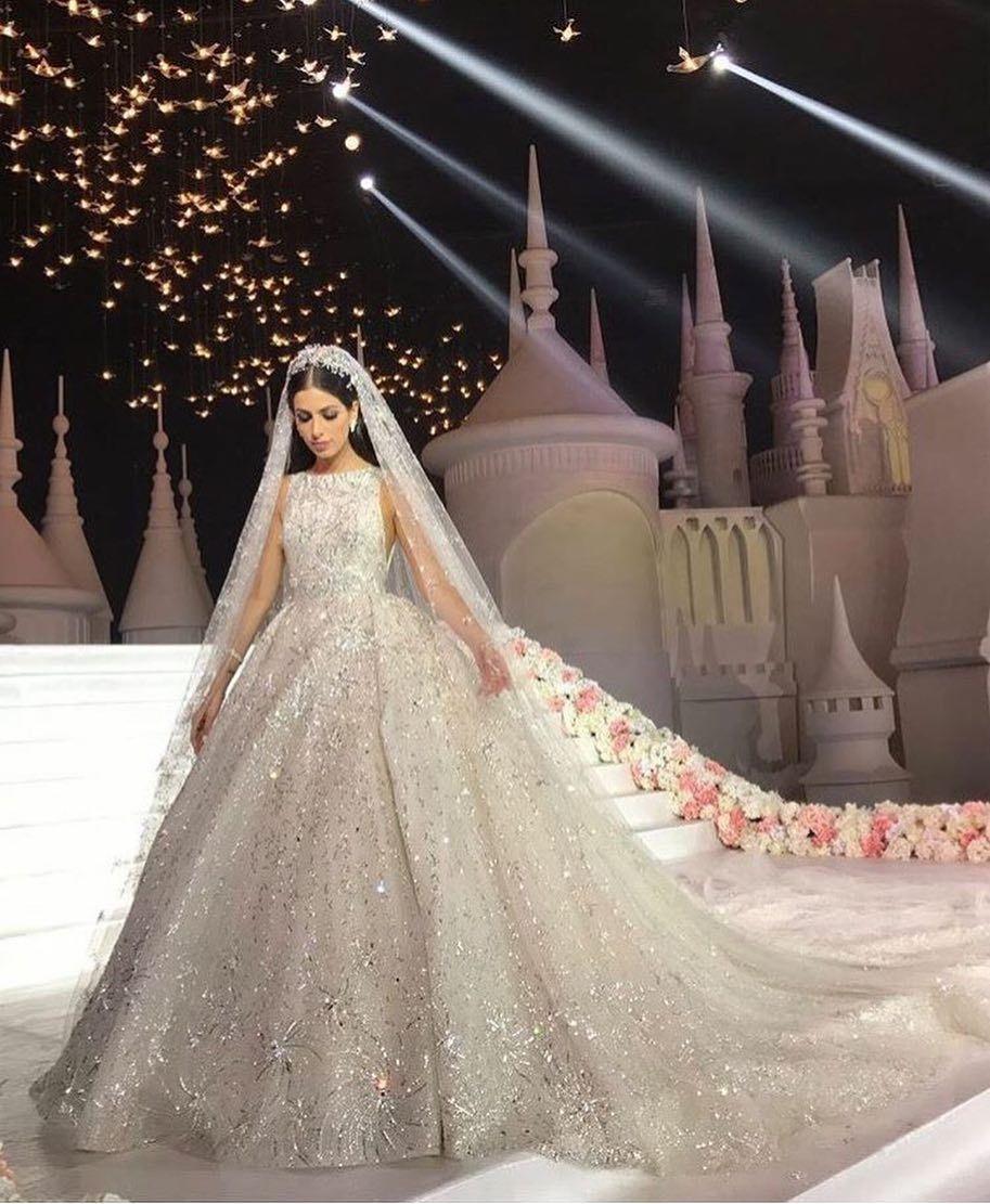 Wedding decorations muslim october 2018 Ballgown wedding dress fit for a queen weddingdress