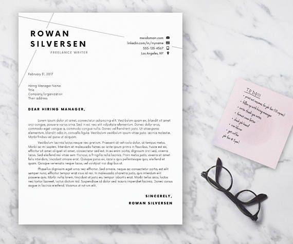 Resume Template, Modern Resume, Resume for Word, CV Template, Cover - download word resume template