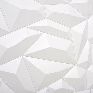 Panneau Mural 3d Pvc Blanc Mat L 60 X L 60 Cm Leroy Merlin Panneau Mural 3d Habillage Mural Panneau 3d
