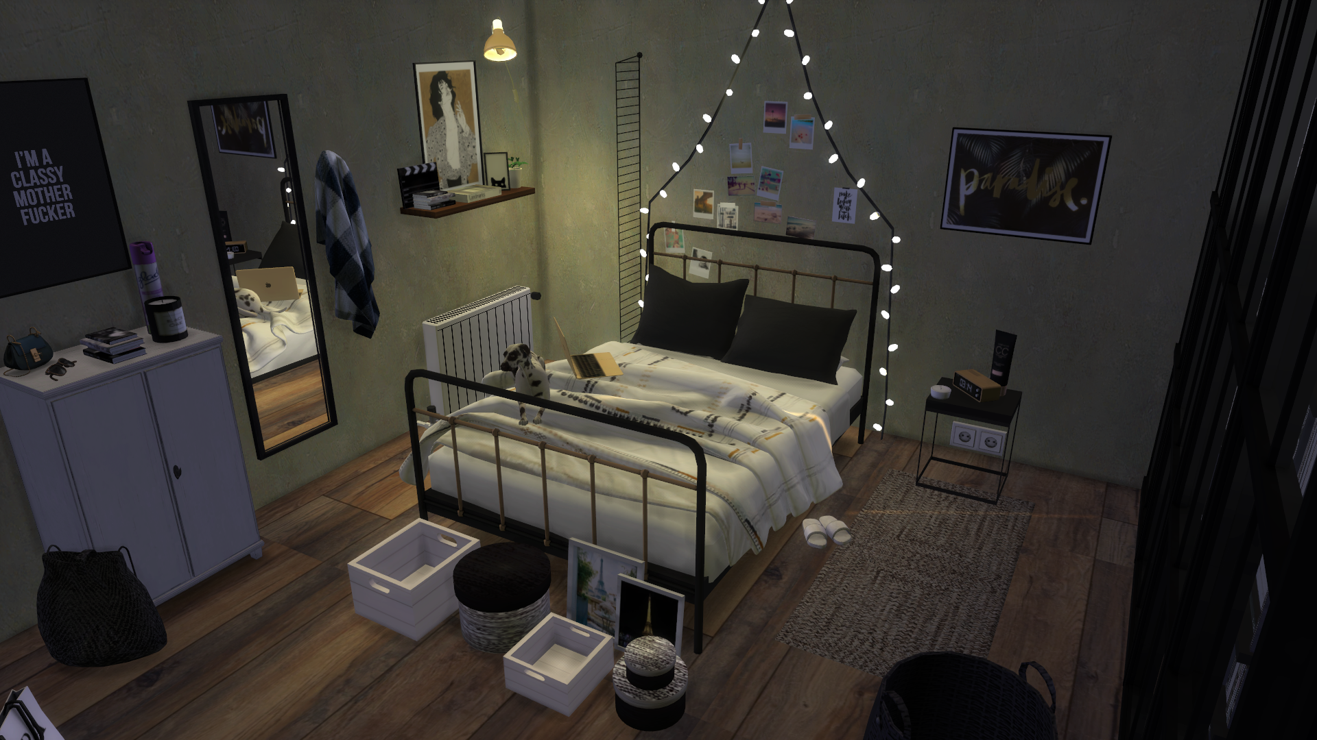 YOU HAVE TO ACTIVATE BB MOVEOBJECTS BEFORE PLACING THE BEDROOM
