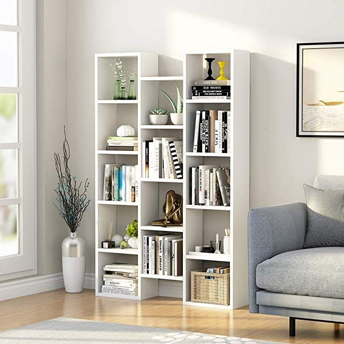 amazon little tree 5shelf modern bookcase organizer