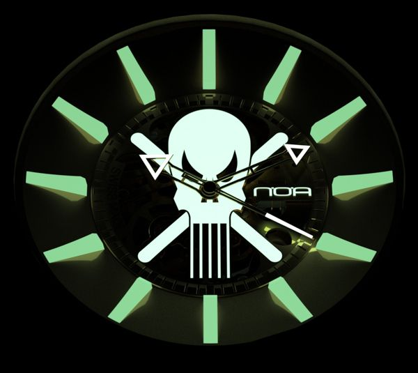 N.O.A Skell And Ghost Watches