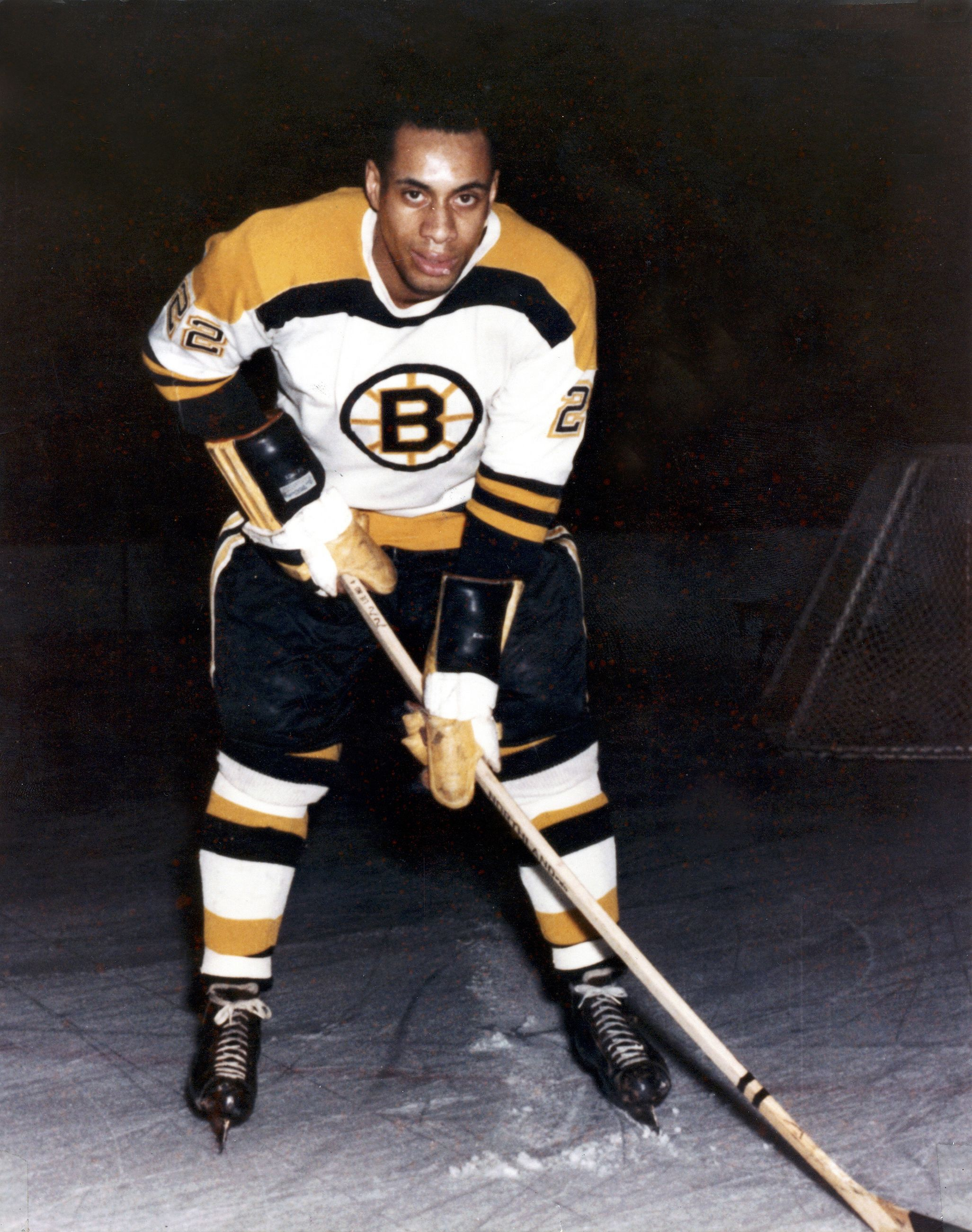 Willie O Ree 1958 1st African American Hockey Player In The Nhl Boston Bruins Boston Bruins Boston Bruins Hockey Bruins Hockey