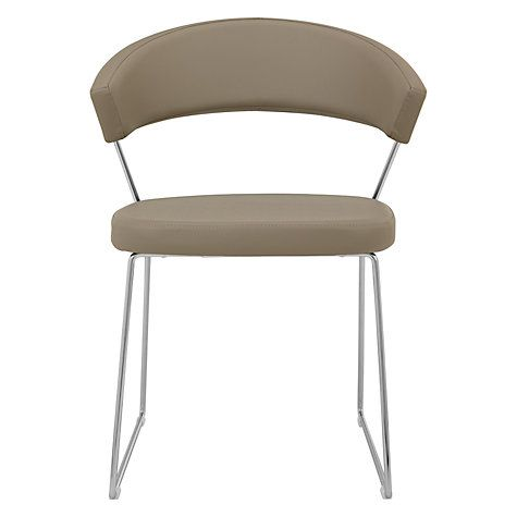 Calligaris New York Dining Chair Taupe | Dining chairs John lewis and Dining  sc 1 st  Pinterest & Calligaris New York Dining Chair Taupe | Dining chairs John lewis ...
