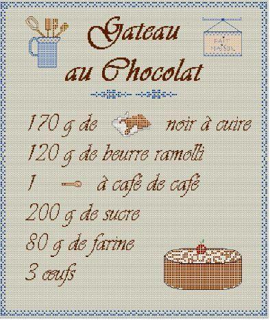 Gateau Au Chocolat Inspirations Creatives D Une Brodeuse Gateau Chocolat Chocolat Passion Chocolat