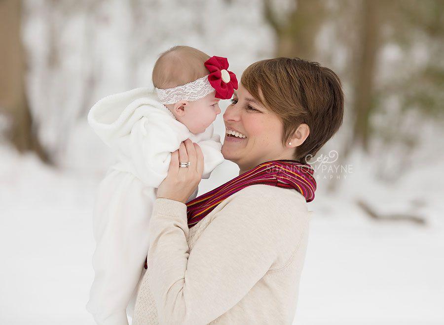 Shannon Payne Photography   Nashville TN Family Photographer Family Portraits in the snow