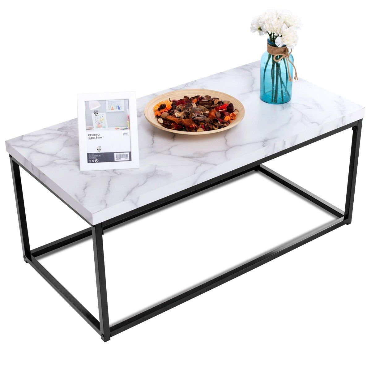 Our Best Living Room Furniture Deals Coffee Table Metal Frame Living Room Decor Furniture Metal Coffee Table [ 1200 x 1200 Pixel ]
