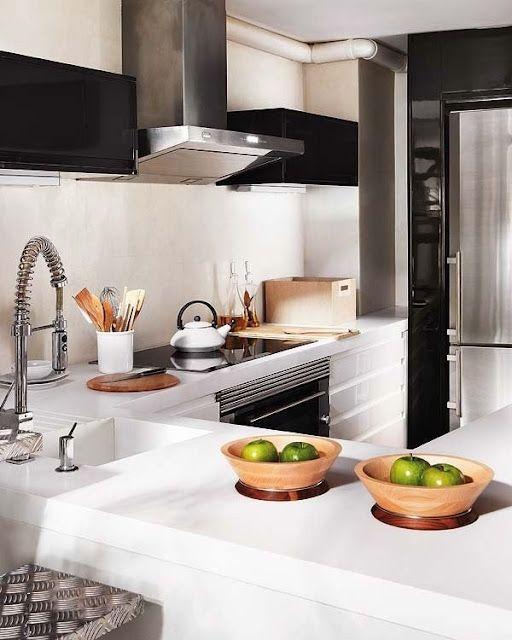 Pin von Jacquelyn Bechir auf For the Home Pinterest Häuschen - dunstabzugshaube kleine küche