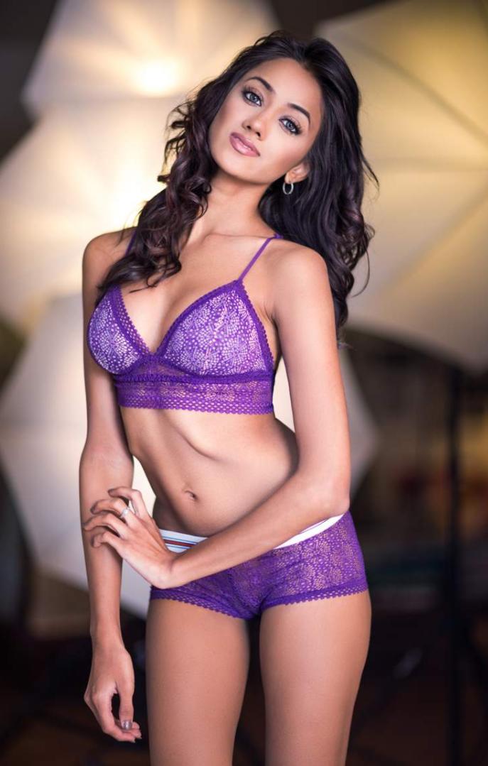Ramina Ashfaque in bikini