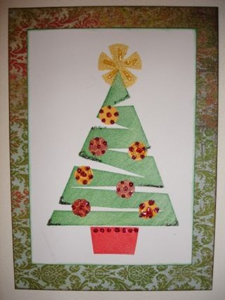 done at home which little ones can help out too The tree and star