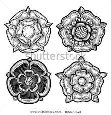 Image Result For Yorkshire Rose Tattoo Tudor Rose Tattoos Yorkshire Rose Rose Tattoos For Men