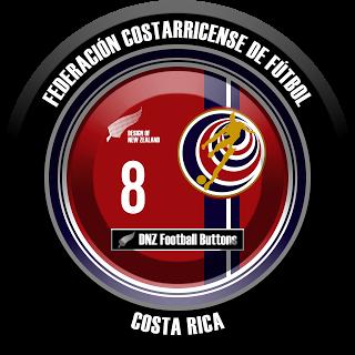 DNZ Football Buttons: Seleção da Costa Rica