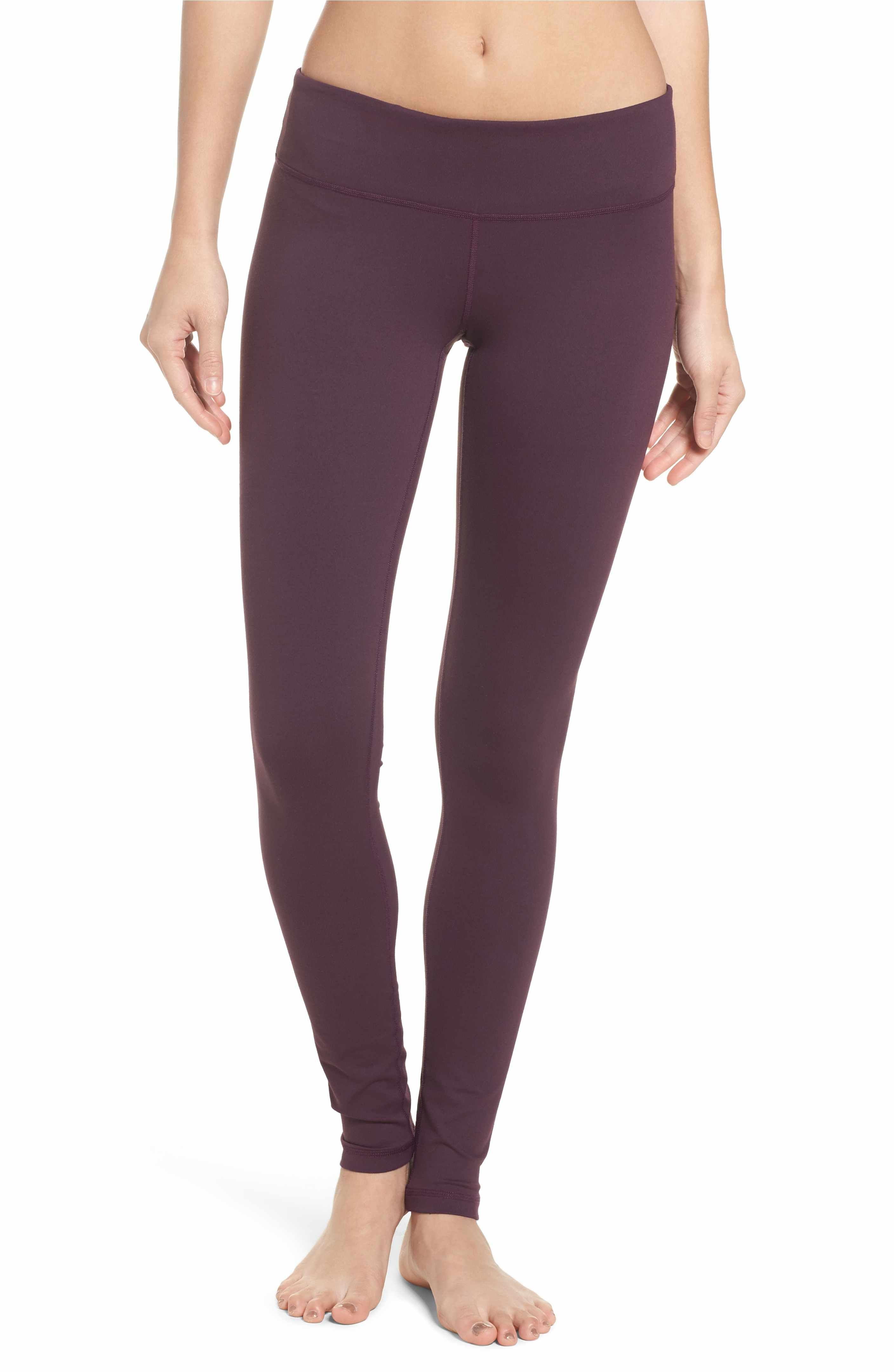 1d8545a13bb2f Zella Live In Slim Fit Leggings - Purple Plum | Fitness Fashion ...