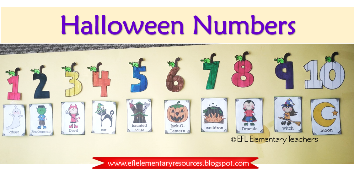 Number Of Days To Halloween 2020 Day 4 of the 31 days of Halloween 2020 New Resources for ESL or