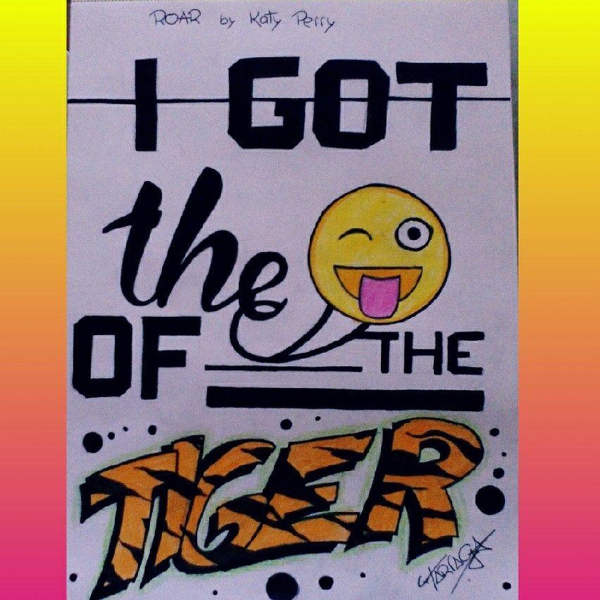 Lyric eye of the tiger katy perry lyrics : I got the eye of the tiger' - Roar - Katy Perry #lyrics #midibujo ...
