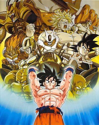 Goku S Villains Com Imagens Dragon Ball Anime Illustration