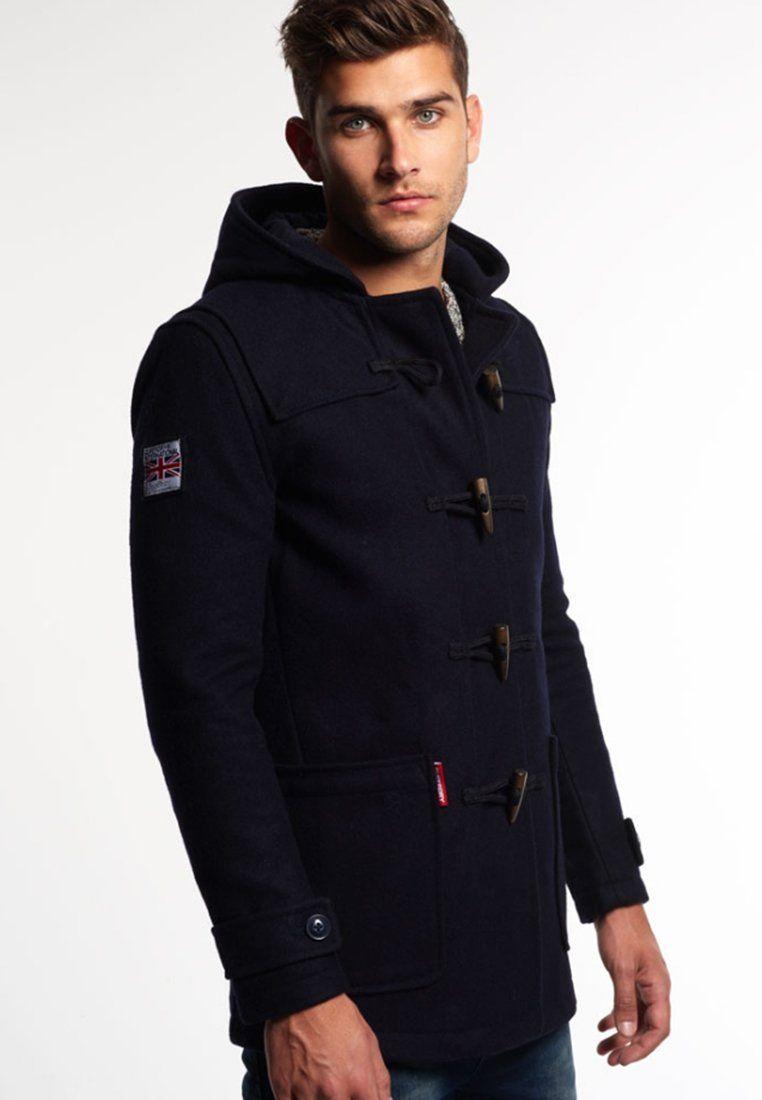 Superdry ROOKIE Manteau court navy | Manteau homme, Veste