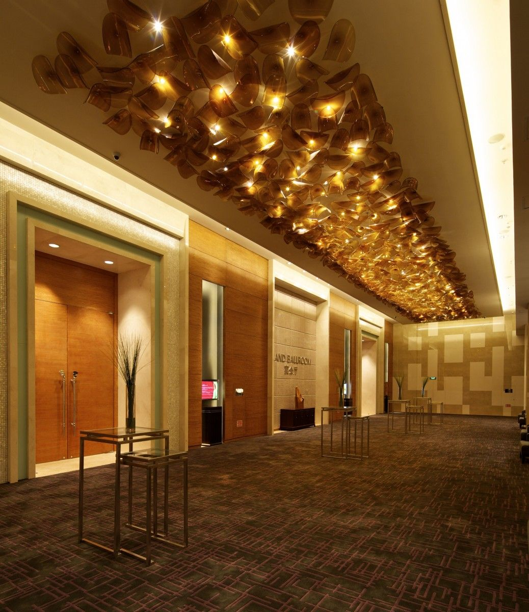 Banquet Hall Design: LASVIT. The Mix Of Stone And Wood Create A Statement. The