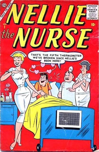 nellie the nurse and the broken thermometer nurses by the book