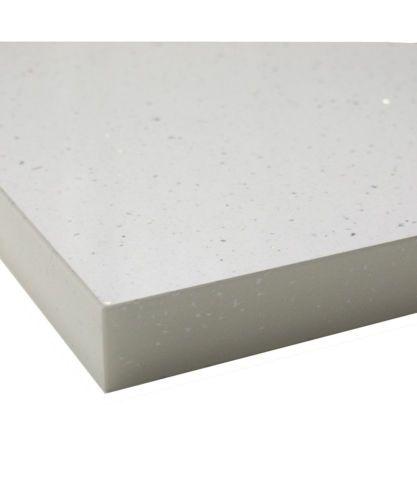 Download Wallpaper White Sparkle Andromeda Laminate Kitchen Worktops 38mm