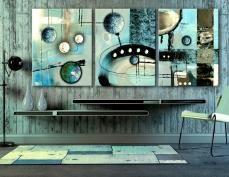 Visita la collezione di quadri in tre pannelli  http://www.art149.it/quadri/trittici.html