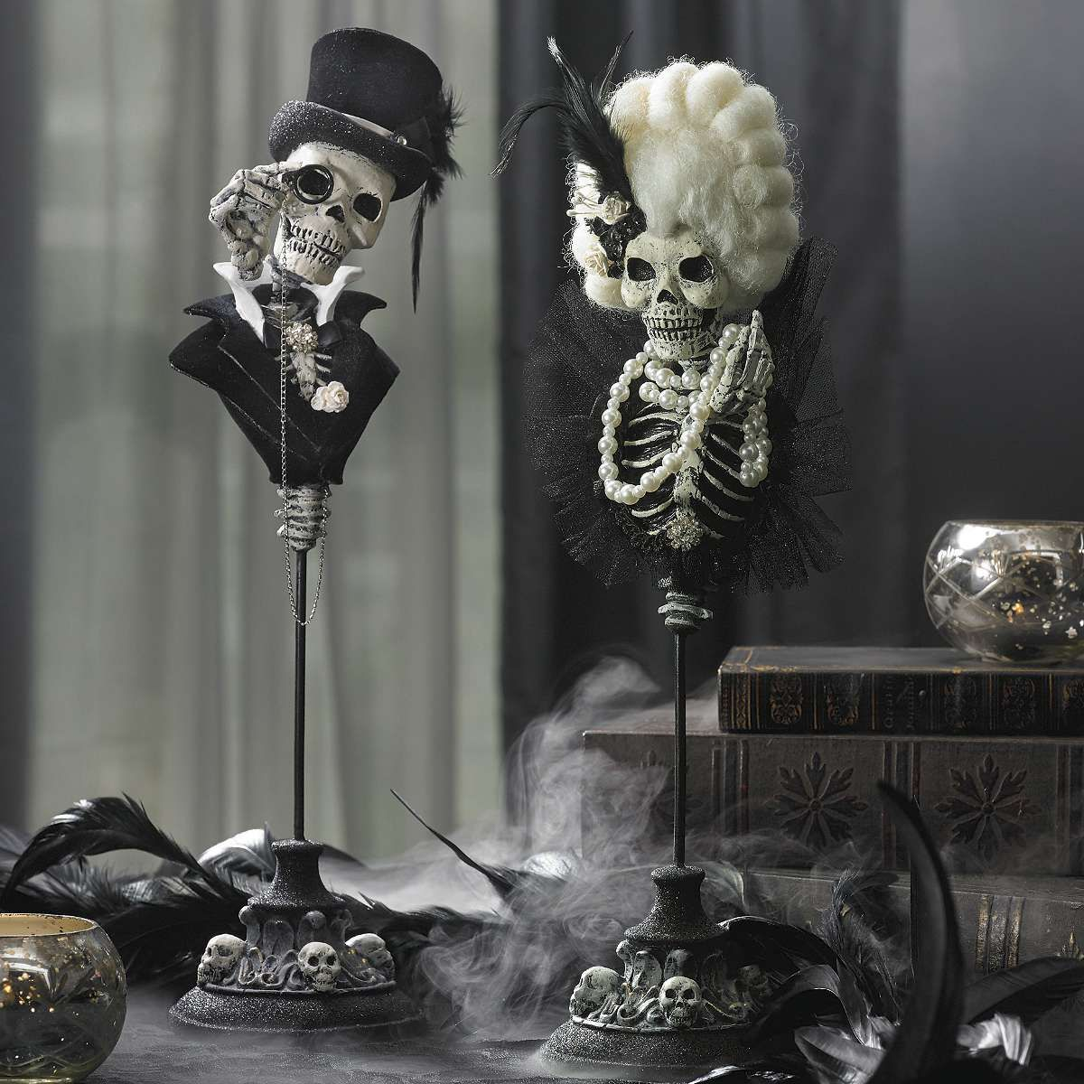 Originally Posted By A Little Odd Wow Hilda How Do You Think This Stuff Up Aww Shucks Just Happens Usu Halloween Decorations Halloween Art Halloween Mantel