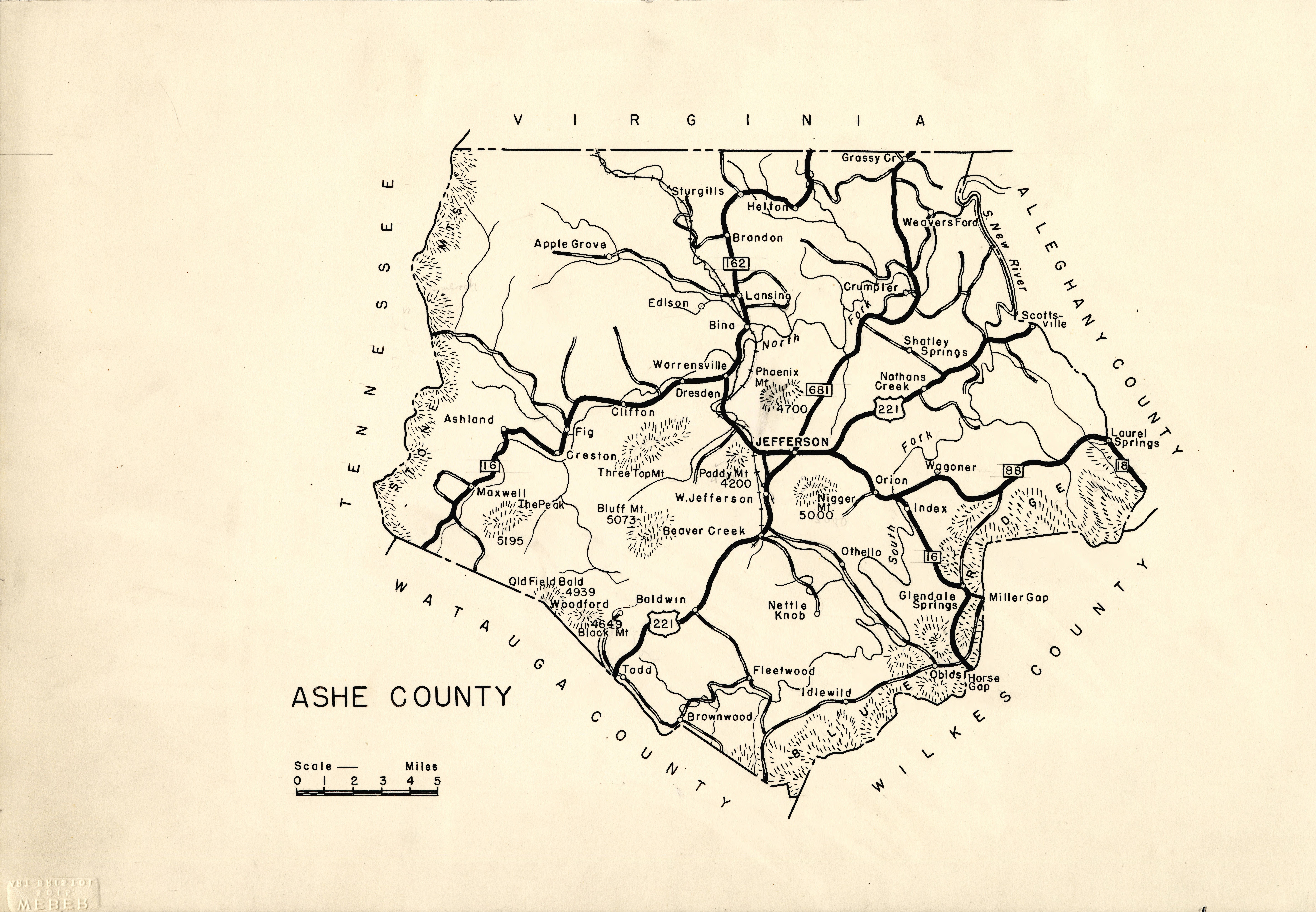 Pin By Foreverythingnc On Ashe County Nc North Carolina Map Nc