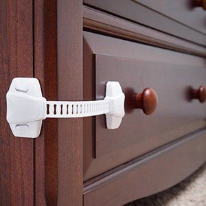 The Baby Lodge Child Safety Cabinet Locks Ultimate Childproofing Latches For Cabinets Dresser