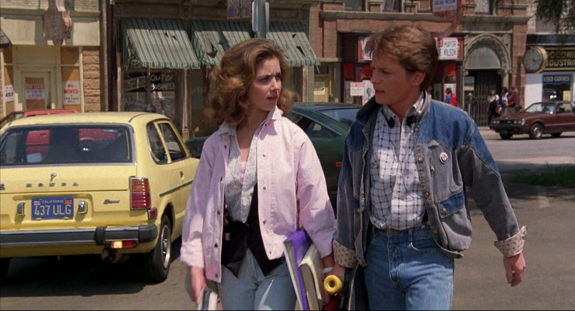 Ul 180u Huf Back To The Future 1985 Special Edition 1080p Bluray